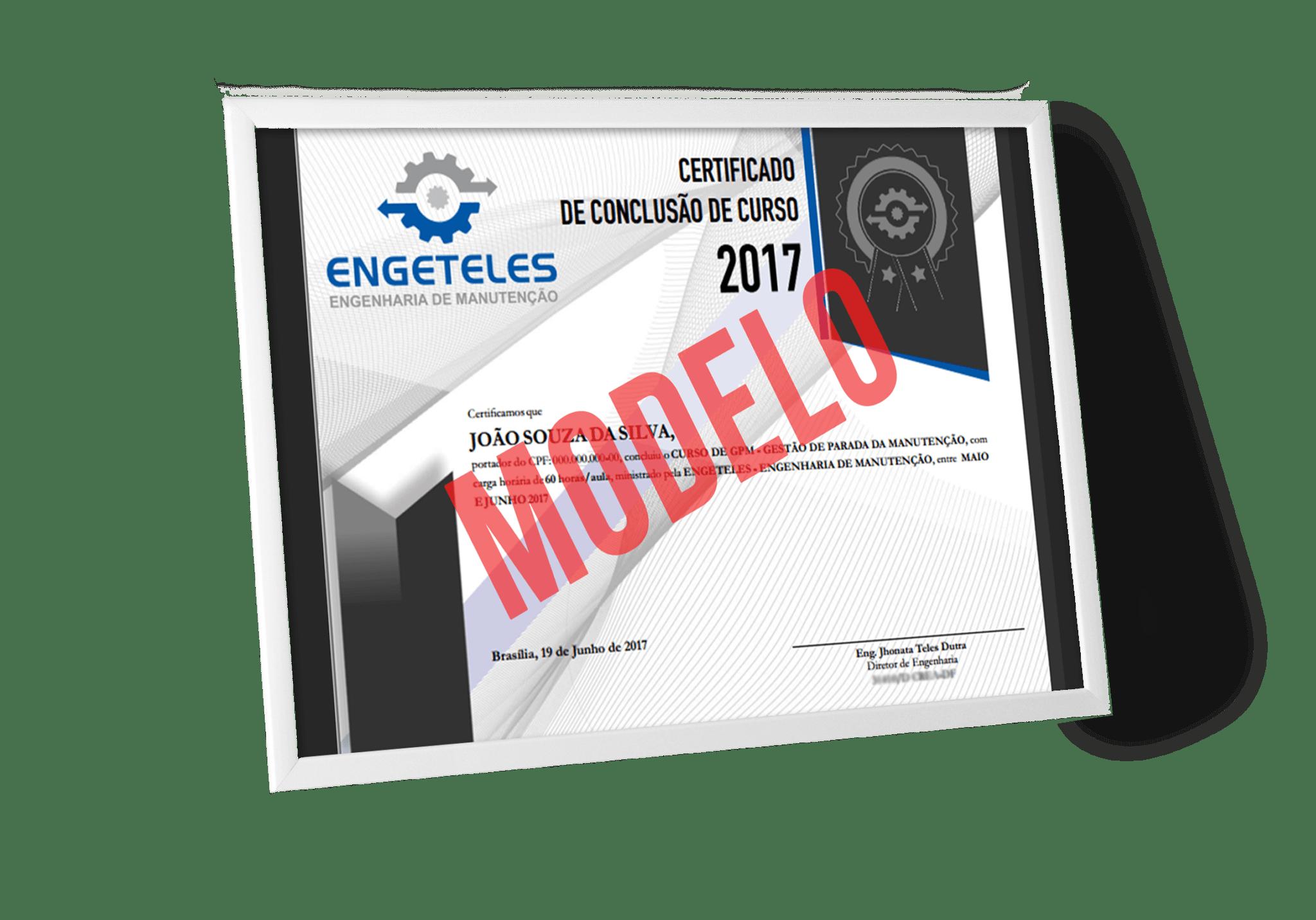 curso de pcm certificado
