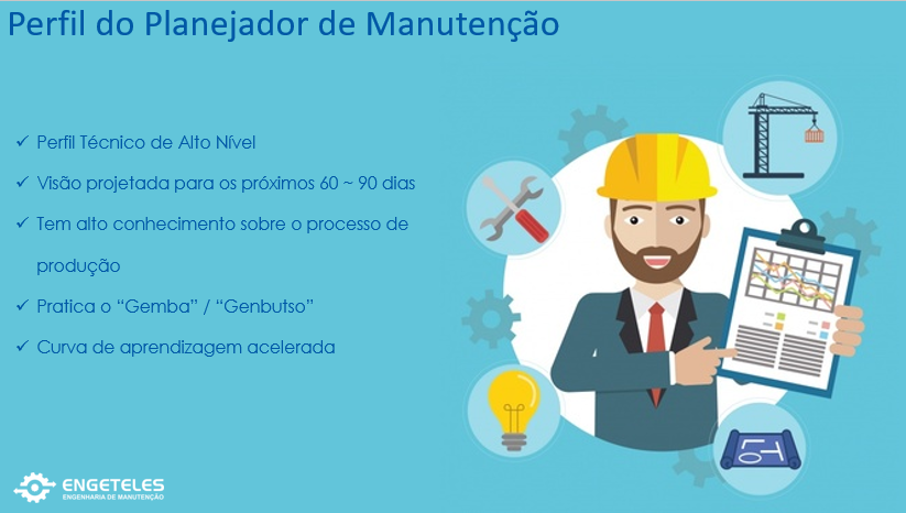 FUNÇÃO DO PLANEJADOR DE MANUTENÇÃO
