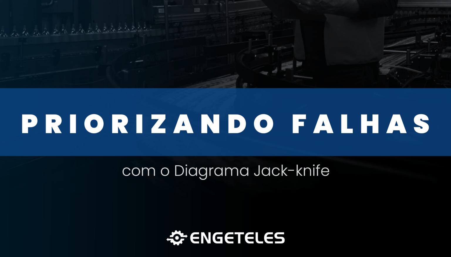 Priorizando falhas com o Diagrama Jack-Knife